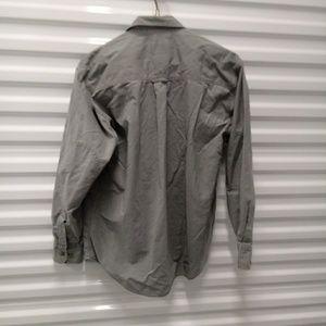 Cabela's Shirts - Cabelas Cotton Distressed Mens Shirt Size Med Reg